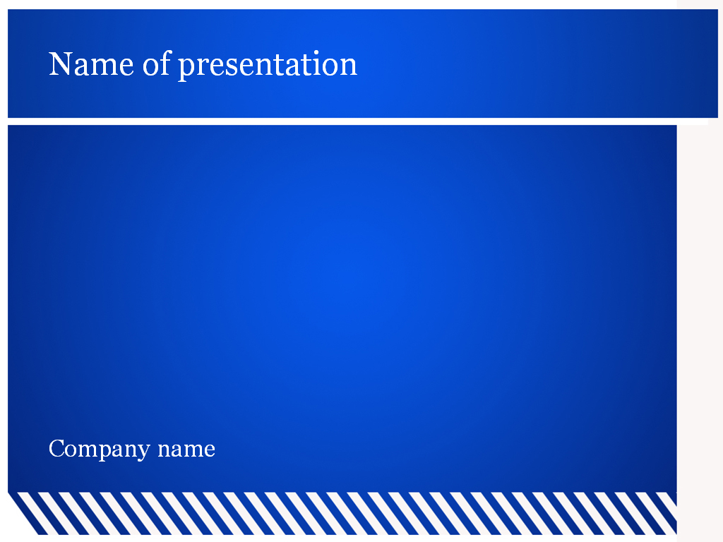 Powerpoint backgrounds free blue vatozozdevelopment download free blue lines powerpoint template for presentation toneelgroepblik Gallery