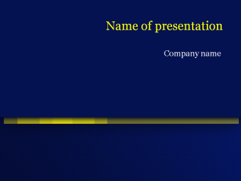 Dark blue Powerpoint template