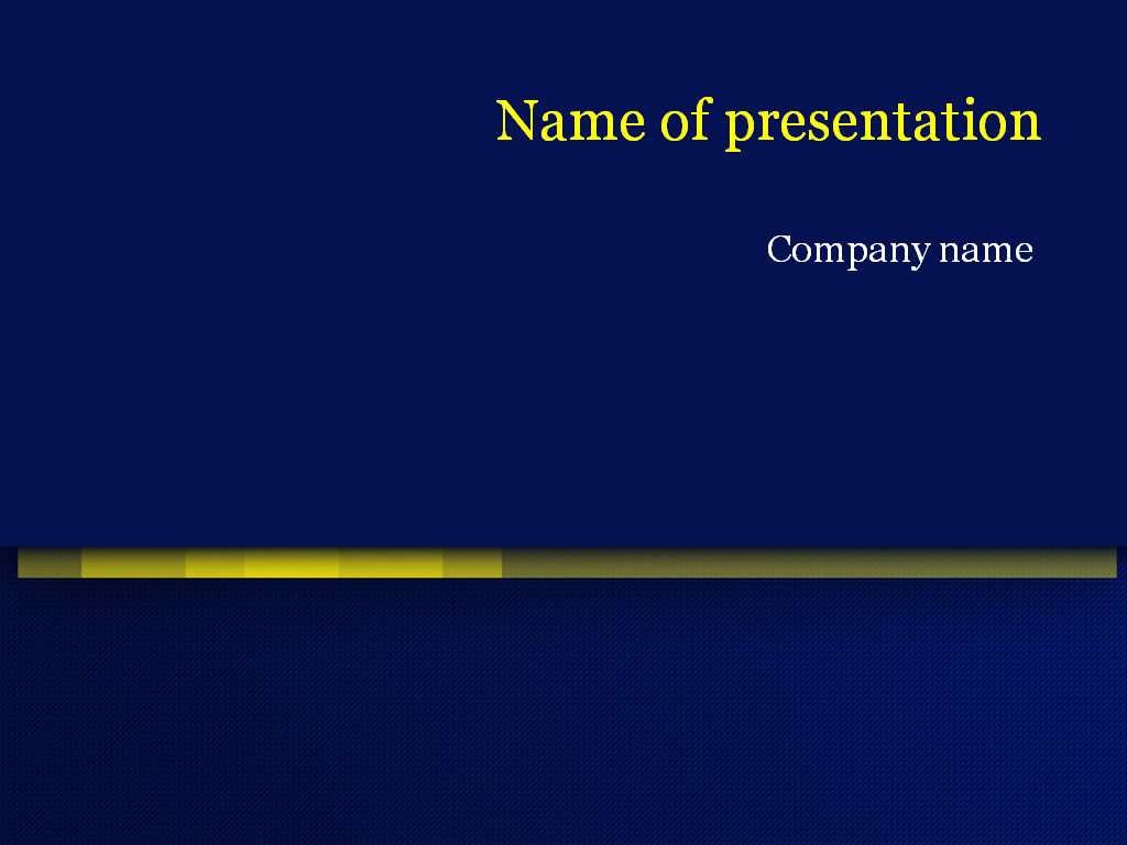 download free dark blue powerpoint template for presentation, Modern powerpoint