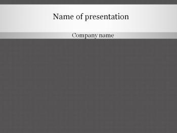 Grey pattern Powerpoint template