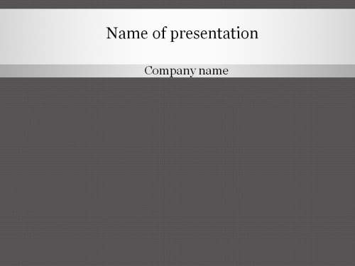 download free grey pattern powerpoint template for