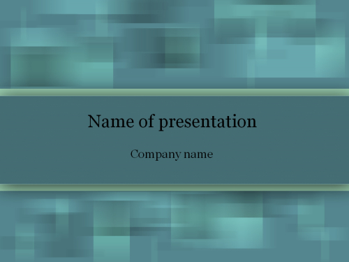 Blue fog Powerpoint template