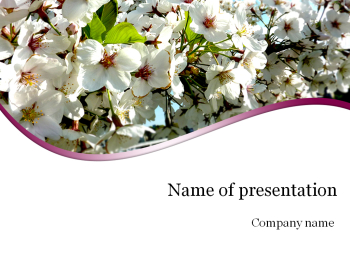 Sakura Powerpoint template