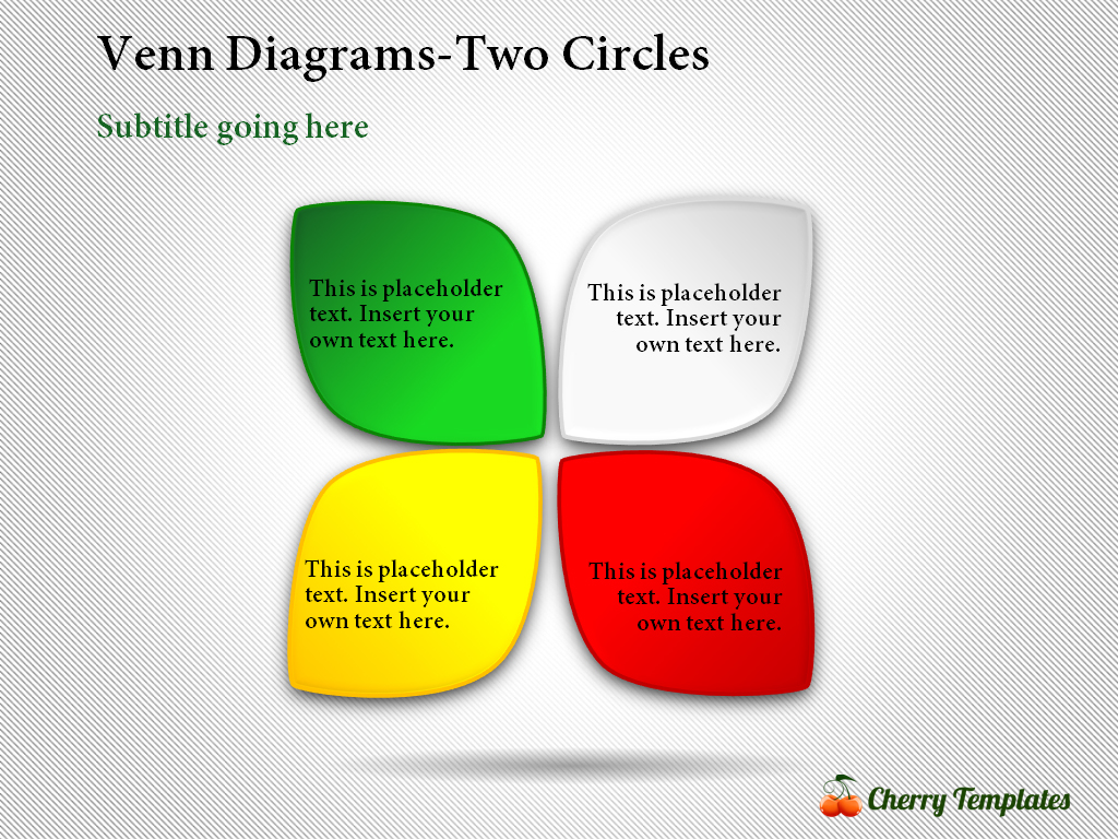Model Venn Powerpoint Charts and Diagrams