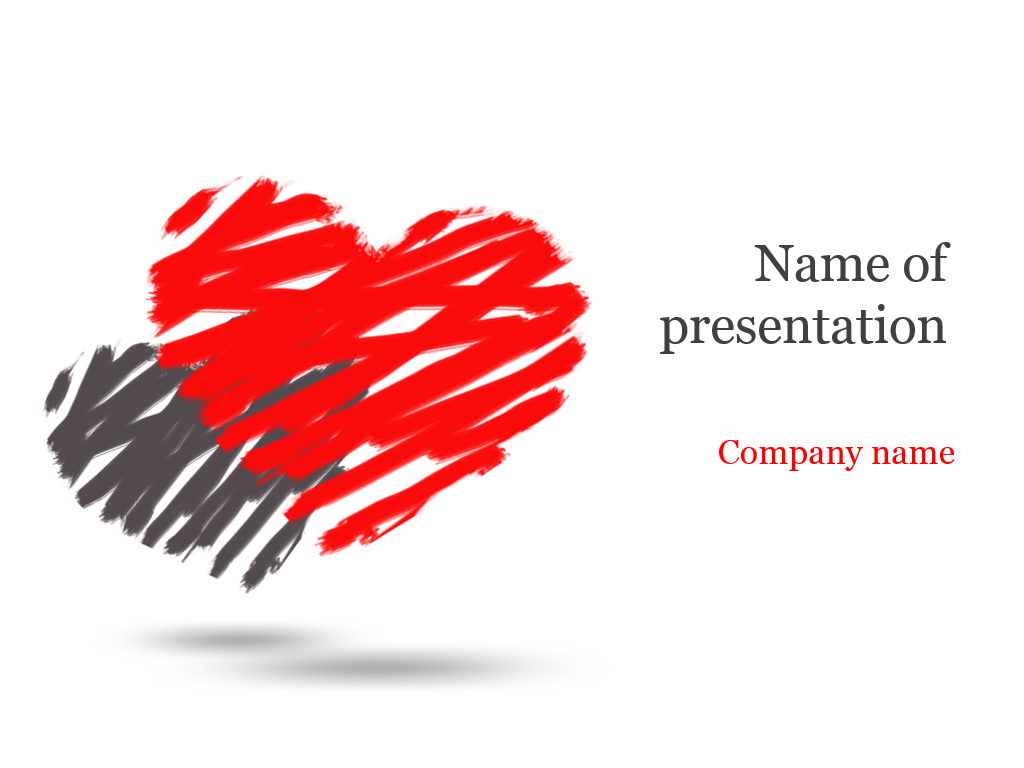 Download free two hearts powerpoint template for presentation two hearts powerpoint template toneelgroepblik Gallery