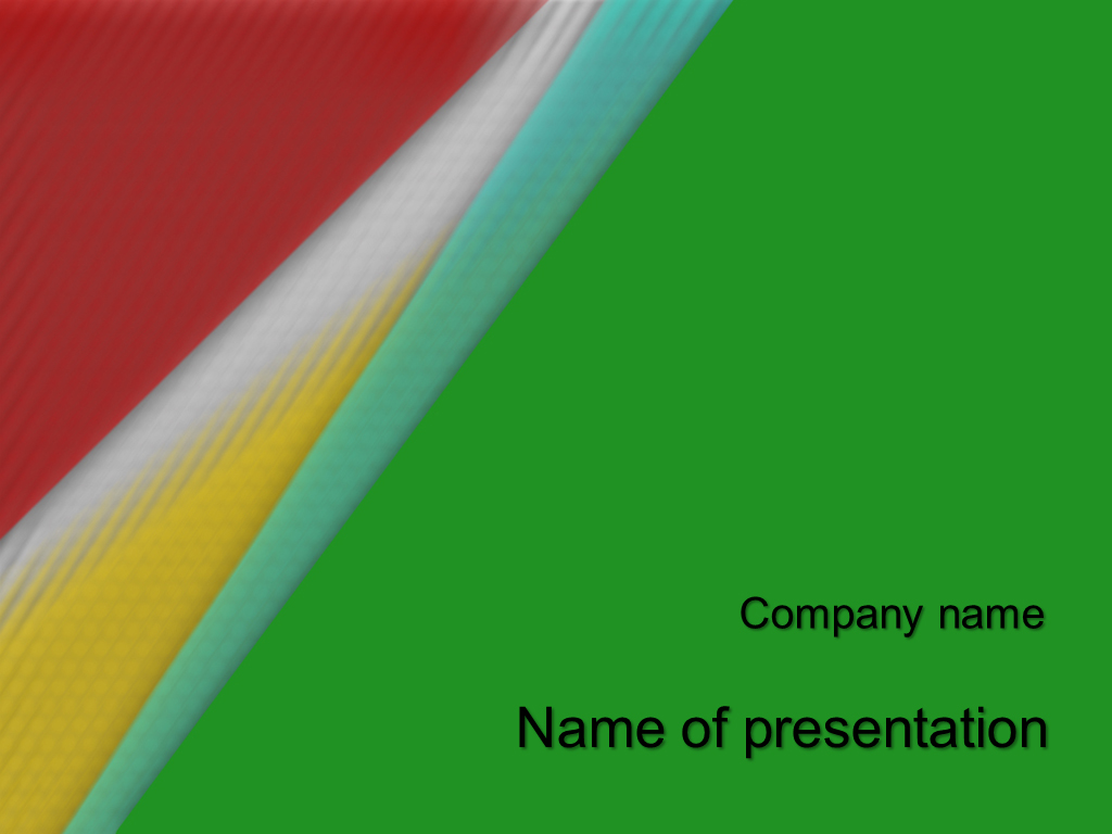 african colors powerpoint template presentation