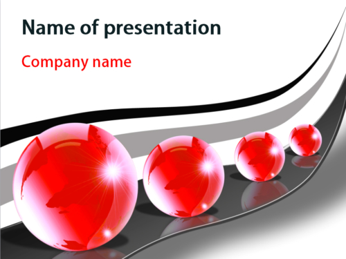 Big Balls PowerPoint template