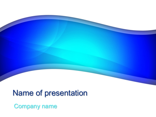 Download Free Blue River Powerpoint Template For Presentation