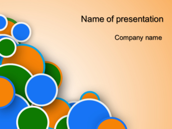 Balls Game PowerPoint template