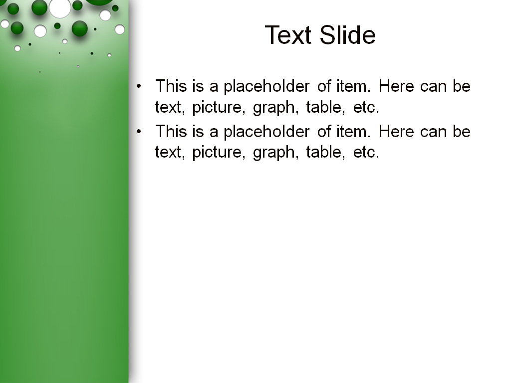 download free bubble game powerpoint template for presentation