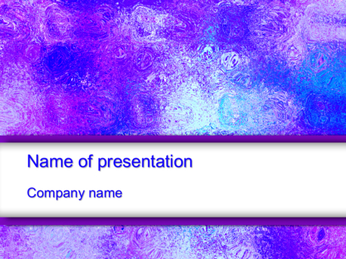Ice Photo PowerPoint template