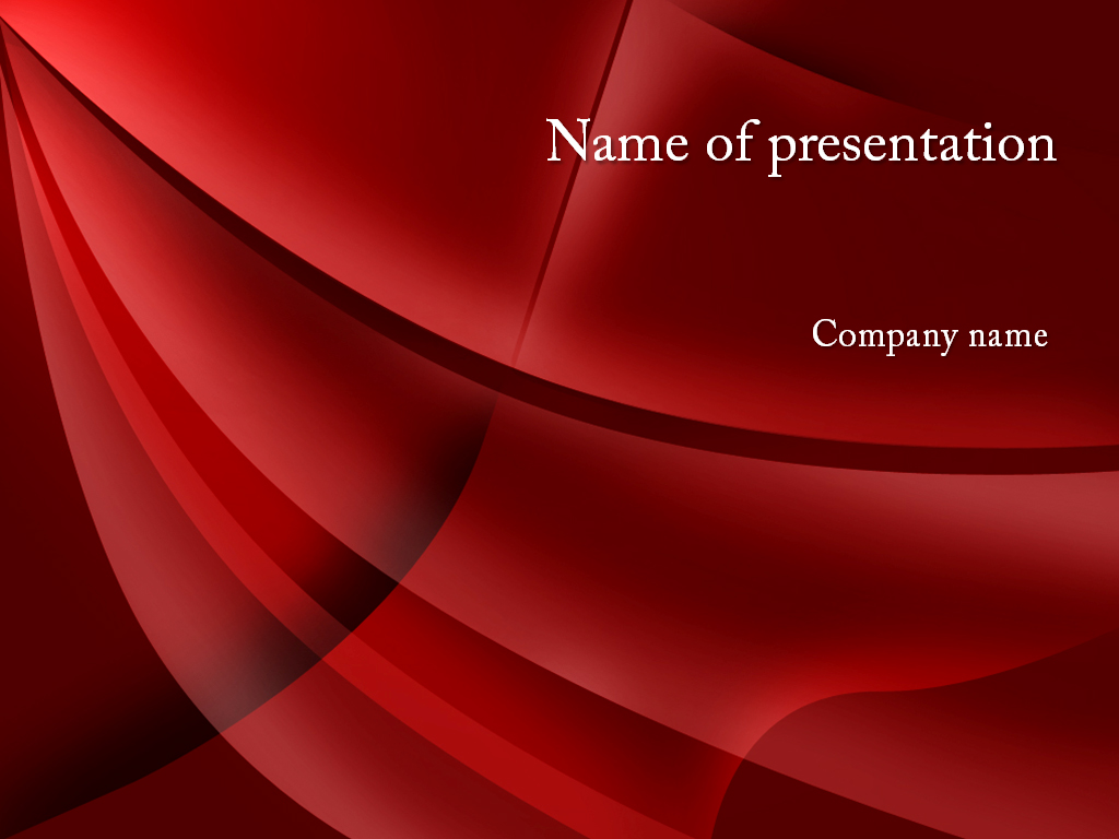 Download free red curtain powerpoint template for presentation for Free powerpoint presentation templates