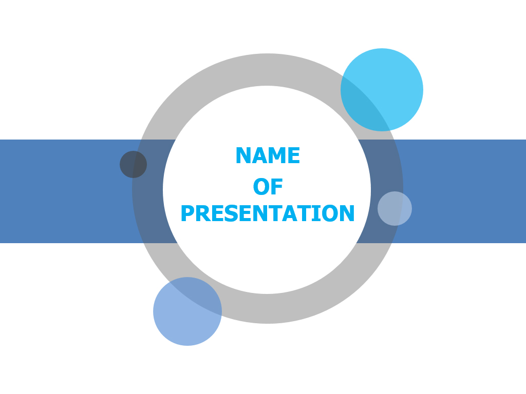 Free round shape Powerpoint Presentation Template
