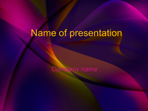 Theatre Theme PowerPoint template