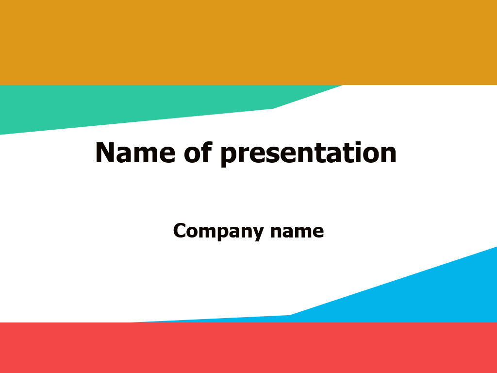 free news broadcasting powerpoint-template presentation