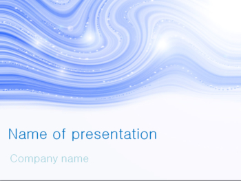 Snow Blizzard PowerPoint template