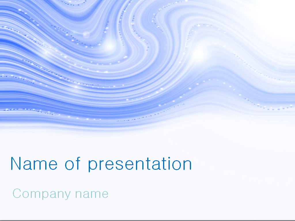 download free snow blizzard powerpoint template for presentation, Modern powerpoint