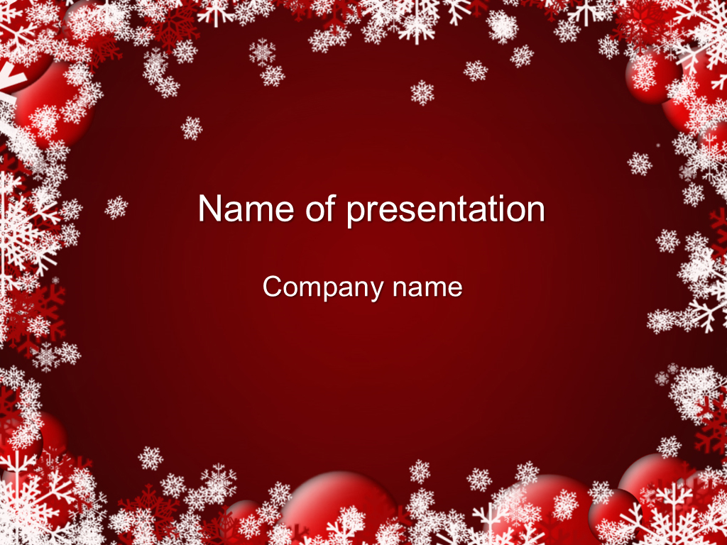 download free winter coming powerpoint template for