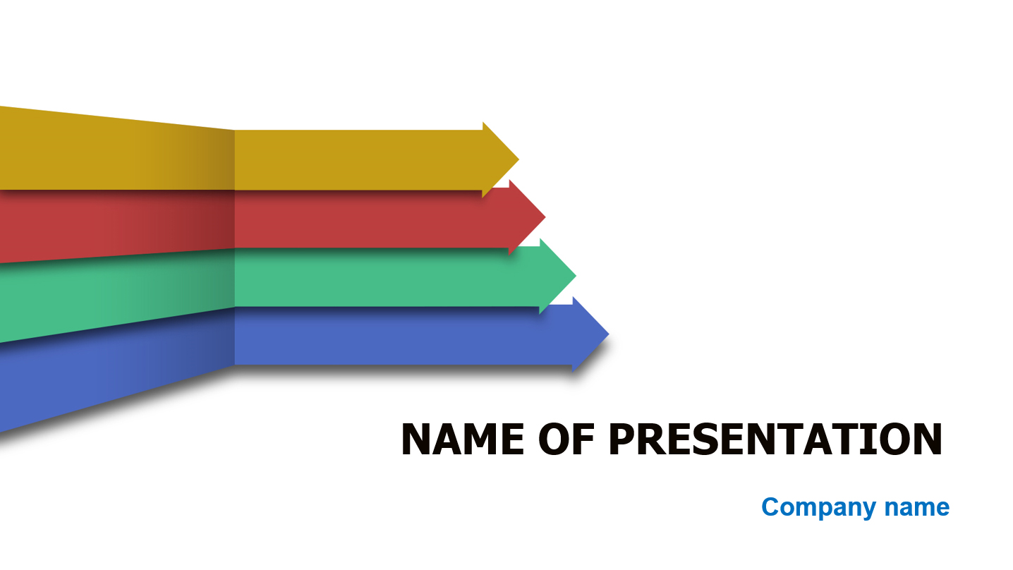 Download free Arrows To The Left PowerPoint template for