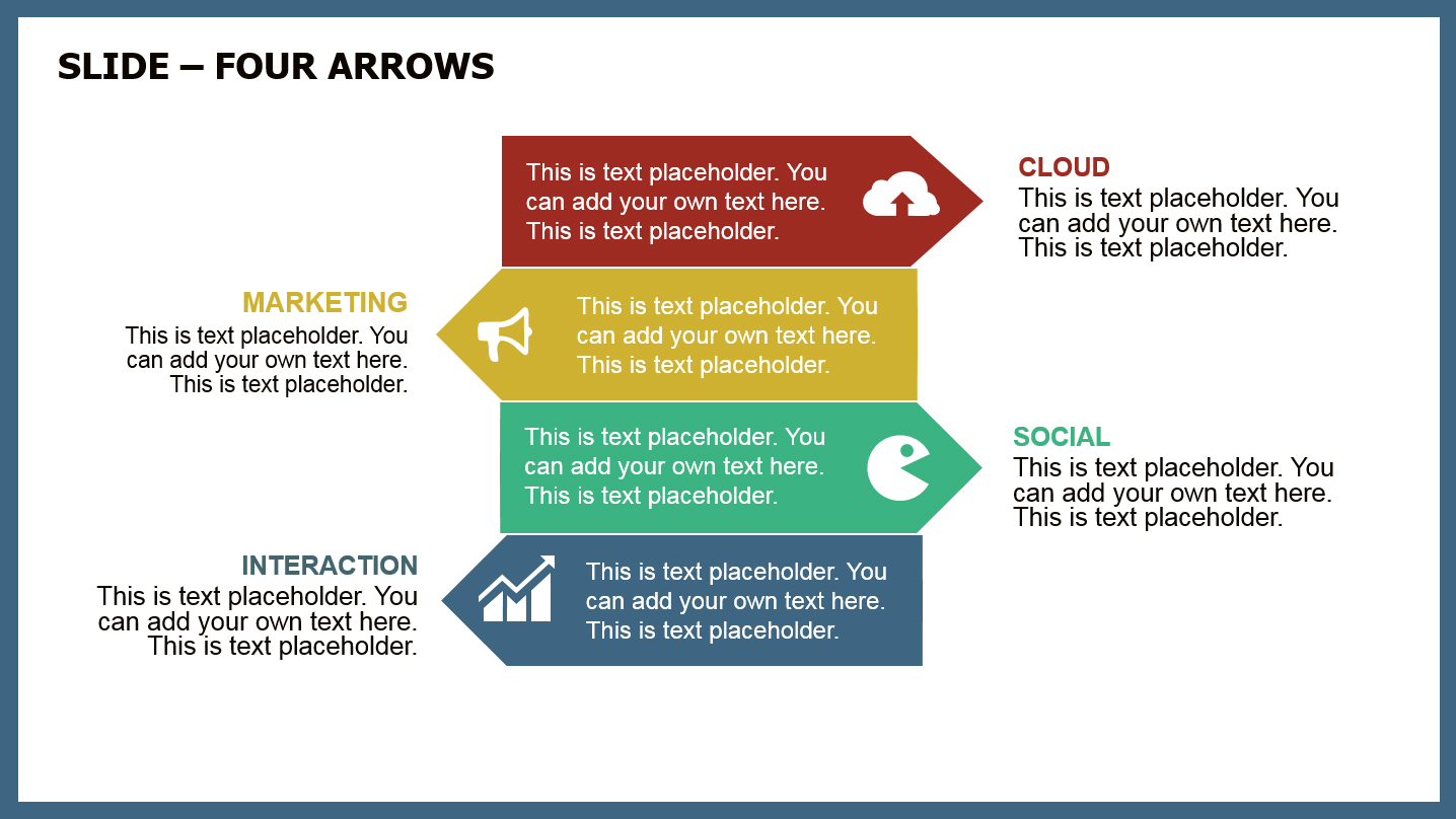 download free arrows power powerpoint template for