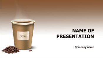 download free meet coffee powerpoint theme for presentation. Black Bedroom Furniture Sets. Home Design Ideas