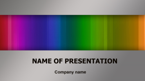 Drawing Colors PowerPoint template