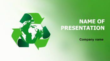 Eco Globe PowerPoint template