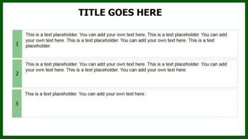 Eco Globe PowerPoint template