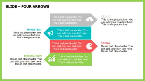 Aquamarine PowerPoint template