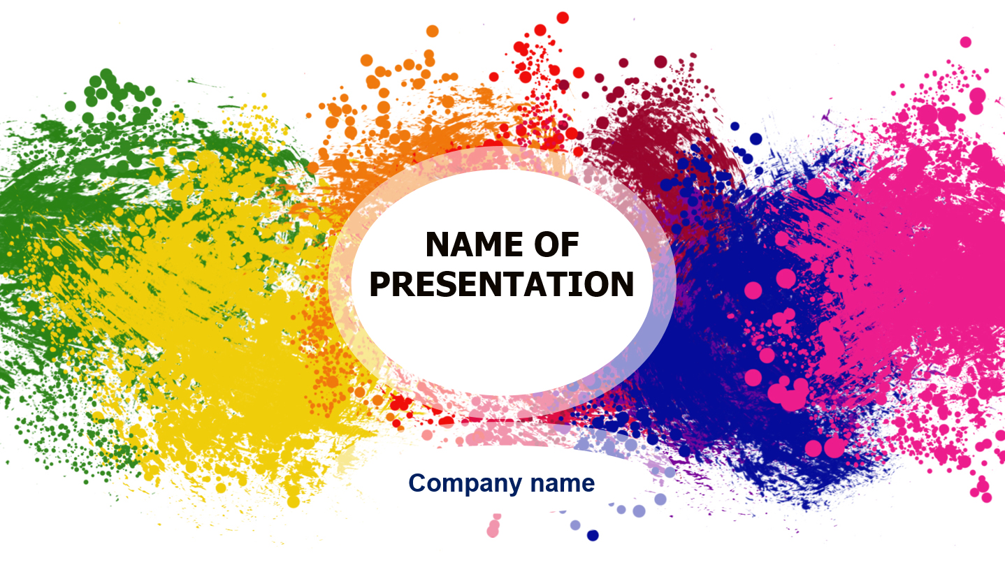 Colorful Powerpoint Templates | Download Free Colorful Powerpoint Template For Presentation