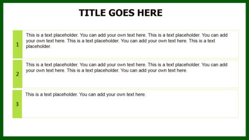 Green Avocado PowerPoint template