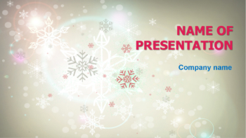 Happy Winter PowerPoint template