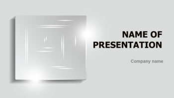 Mystical Square PowerPoint template