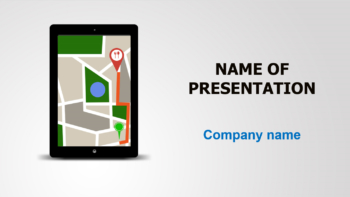 Navigational PowerPoint template