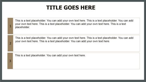 Navigational PowerPoint template
