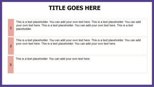 Purple City PowerPoint template