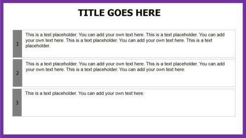 Purple PowerPoint template