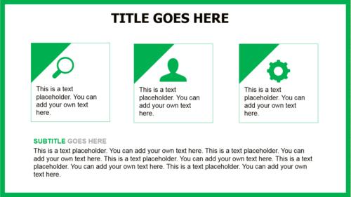 Soccer Ball PowerPoint template