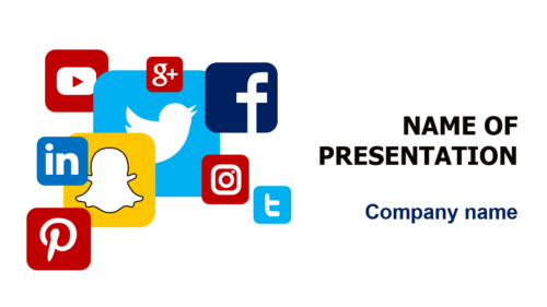 Social PowerPoint template