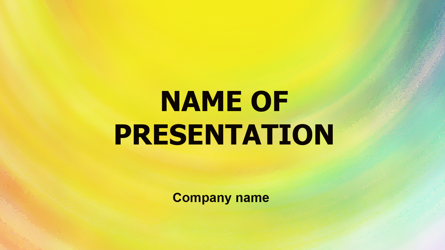 download free sunny sky powerpoint template for presentation