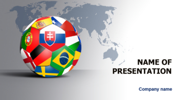 World Soccer PowerPoint template