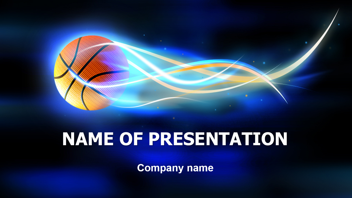 download free basketball powerpoint template for presentation, Modern powerpoint