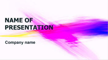 Design Colors PowerPoint template