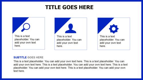 Blue Cardiograma PowerPoint theme