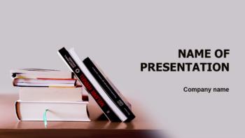 School Books PowerPoint theme