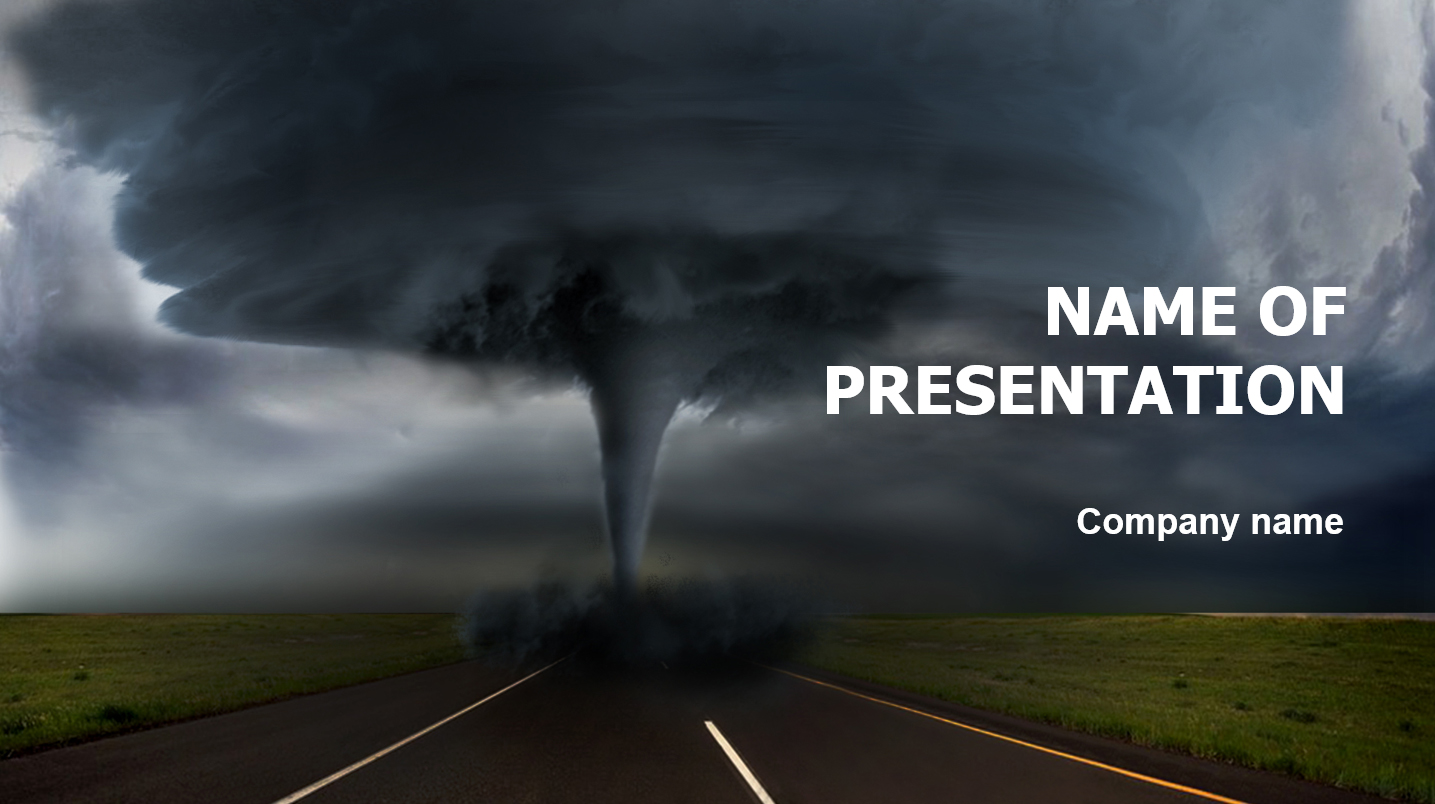 download free terrible hurricane powerpoint theme for
