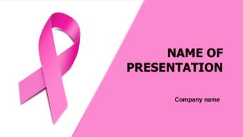 Women Breast Health PowerPoint theme