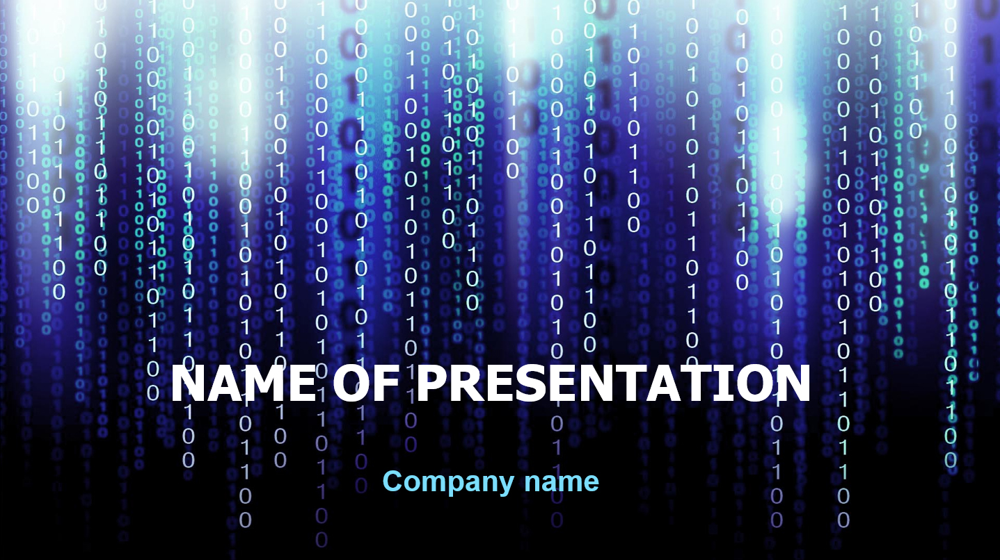 download free coding powerpoint theme for presentation