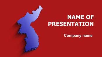 Korea Colors PowerPoint theme