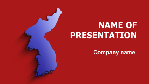 Korea Colors PowerPoint theme
